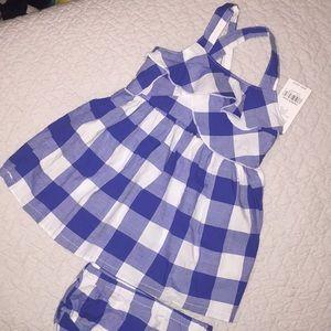 NWT Carter's 12 Month 2 Piece Dress